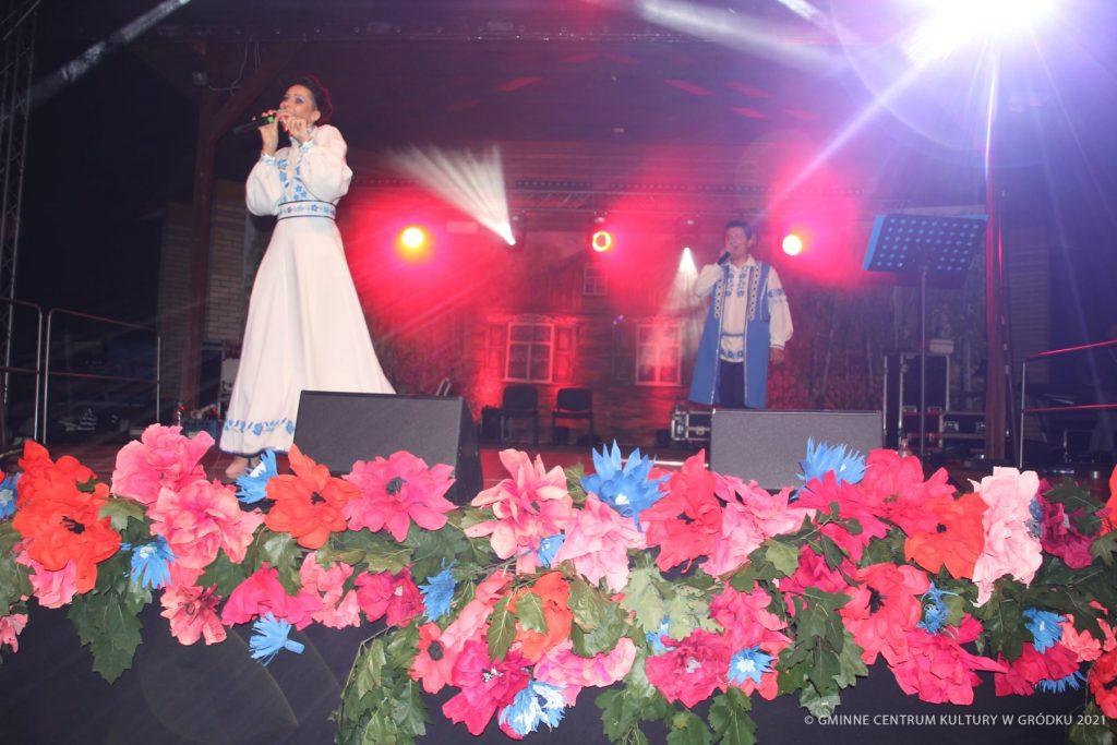 Zespół Viesna na Scenie podczas Mieędzynarodowego Festiwalu Siabrouskaja Biasieda 2021